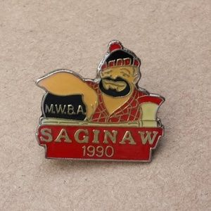 MWBA, Michigan State Women's Bowling Assoc. Pin